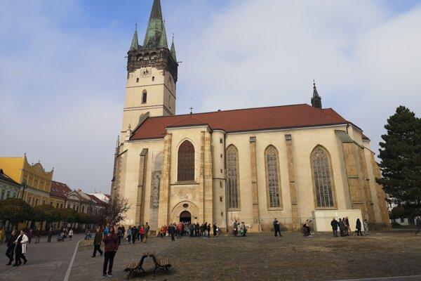 Katedrála sv. Mikuláša v Prešove.