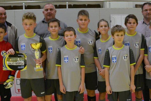 V kategórii mladších žiakov sa z prvenstva na turnaji tešili Kovarce.