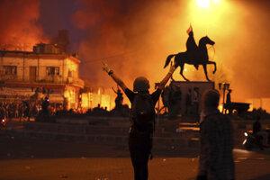 Nepokoje v Bagdade.