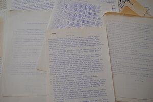 Archiválie: Propagačné materiály Nežnej revolúcie.