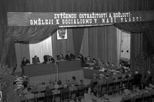 Politické procesy v 50. rokoch.