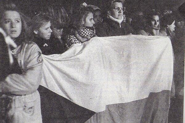 November 1989 - protesty boli takmer každý deň.