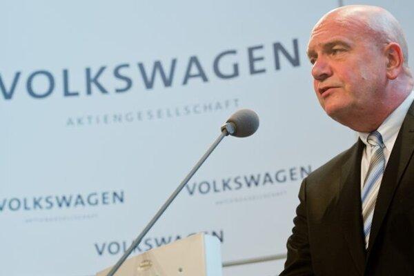 Šéf zamestnaneckej rady Volkswagenu Bernd Osterloh.