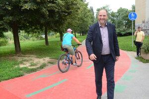 Primátor Polaček informoval počas leta o výstavbe trasy na sídlisku Nad jazerom.