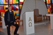 Akademický maliar Pavol Muška ajeho dielo vitráž vkostole vBudatíne.