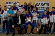 Karate klub Trstená sa doma predviedol v krásnom svetle.