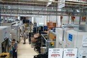 Výroba firmy SMRC v Nitre.