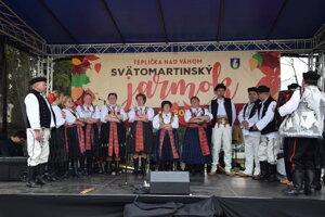 Hudobné vystúpenie FS Straník.