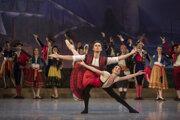 Balet don Qujiote nieje len príbehom dômyselného rytiera de la Mancha, ale aj príbehom zakázanej lásky