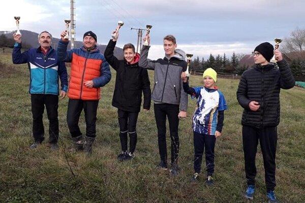 Ocenení víťazi Oblastného rebríčka Východ v orientačnom behu za rok 2019.