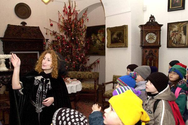 Vianoce na zámku sa tento rok začínajú 6. decembra.