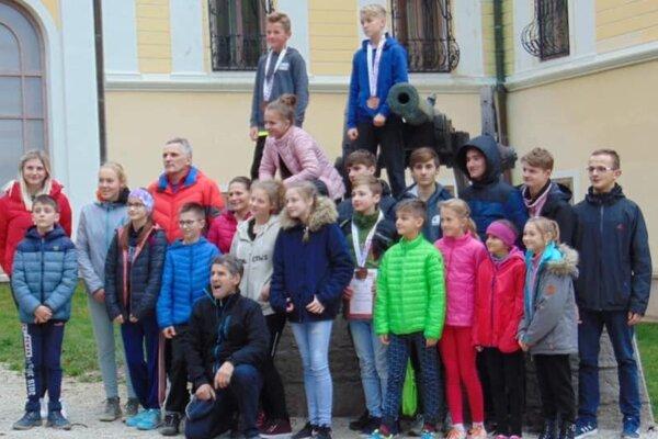 Malí atléti z Kysuckého Nového Mesta.