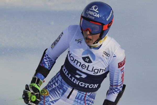 Petra Vlhová nebola po šiestom mieste v obrovskom slalome v Killingtone spokojná.