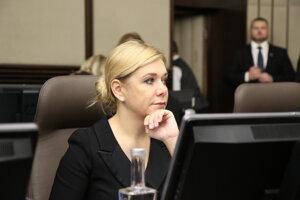 Zákon navrhlo ministerstvo vnútra, na snímke ministerka Denisa Saková.