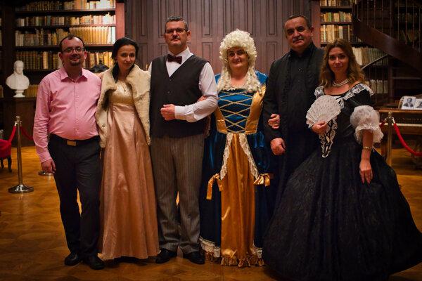 Divallo Tesáre odohralo počas dvoch večerov celkom desať predstavení pre 552 návštevníkov.