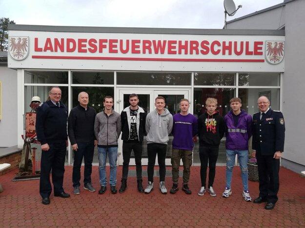 V Nemecku absolvovali žiaci prípravu a výcvik nemeckých profesionálnych a dobrovoľných hasičov.