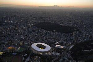 Nový štadión v Tokiu.