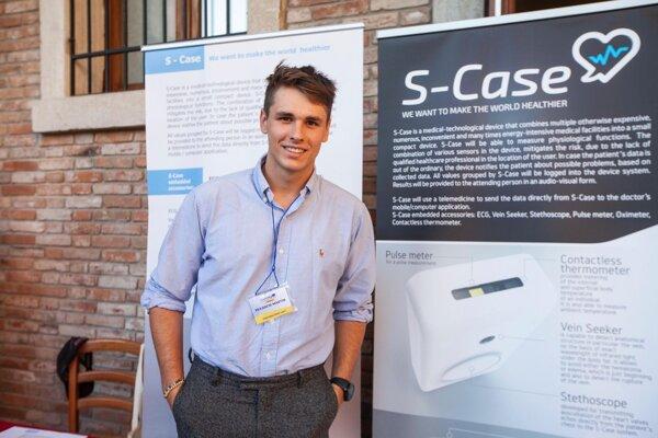 Martin Pekarčík zo spoločnosti S-Case
