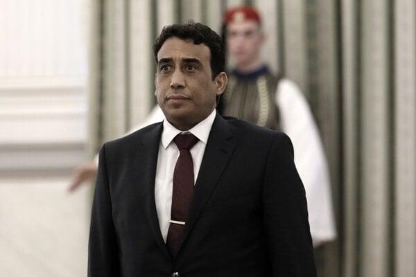 Mohamed Younis A.B. Menfi, veľvyslanec Líbye v Grécku.