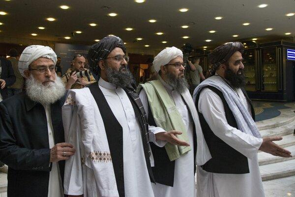 Zástupcovia Talibanu.