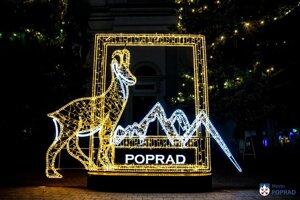 K evanjelickému kostolu pribudol fotorámček s kamzíkom a nápisom Poprad.