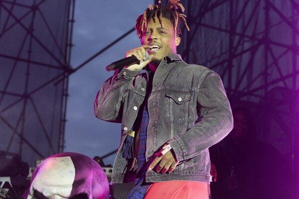 Rapper Juice WRLD na snímke z mája 2019.