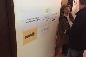 Centrum sústredeného sociálneho zabezpečenia na Slovenskej ulici.