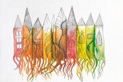 Ilustrácia z Knihy plnej ľudí