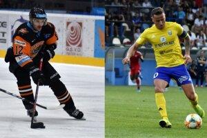 Z hokejistu Christopheho Lalancetteho a futbalistu Igora Žofčáka sa na jeden večer stanú florbalisti.