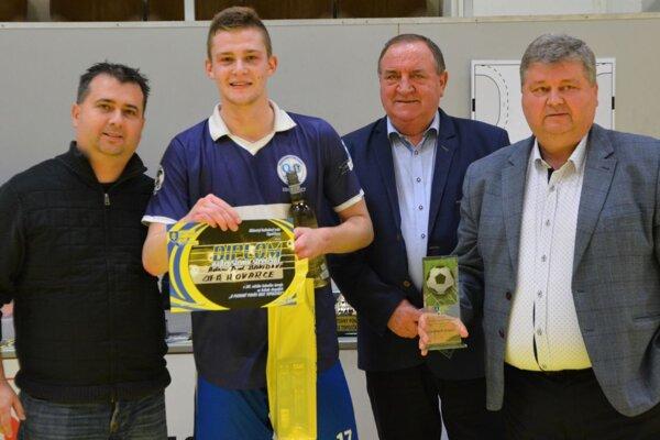 Zľava: Martin Soboňa, Adam Pavol Dávidovič, Jaroslav Božik a Juraj Soboňa.