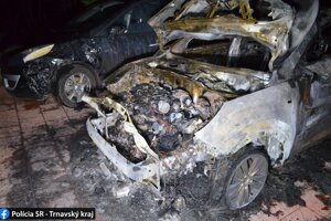 Požiar auta zapríčinil páchateľ z Holíča.