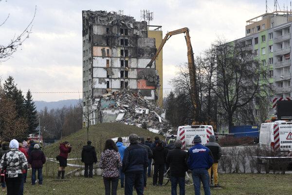 Búracie práce v Prešove.