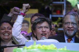 Do vedenia kolumbijskej metropoly Bogoty zvolili v októbri 2019 prvýkrát v dejinách ženu, protikorupčnú aktivistku Claudiu Lópezovú.