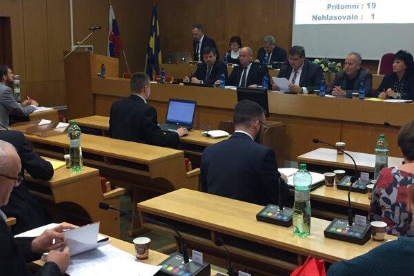 Mestské zastupiteľstvo vo Vranove.