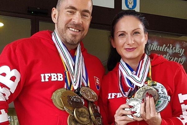 Manželia: Boris a Mariana Palovičovci po úspešnej sezóne.