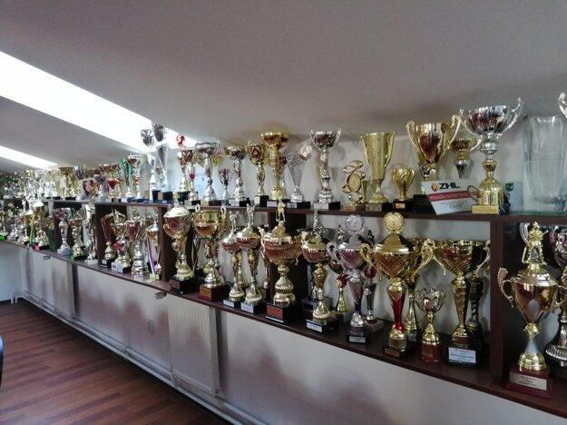 Za roky 2011 – 2013 získali hasiči z Kútov neuveriteľných 116 pohárov.
