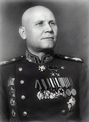 Maršal Ivan Konev v roku 1945.