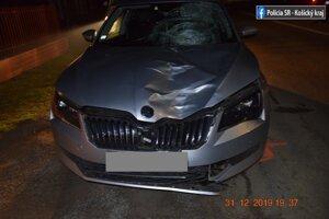 Dopravná nehoda v Somotore.