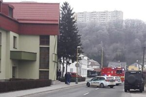 Na Priemyselnej ulici v Košiciach unikal plyn.