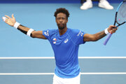 Gael Monfils na ATP Cupe 2020.