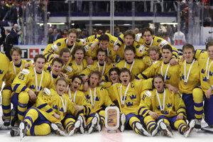 Švédsko získalo bronz na MS v hokeji do 20 rokov 2020.