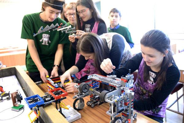 First Lego League v Košiciach.