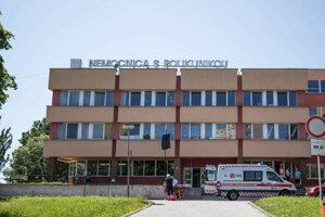 Nemocnica vo Veľkom Krtíši.
