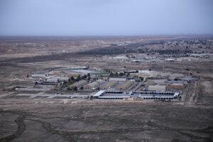 Základňa Ajn al-Asad v Iraku.