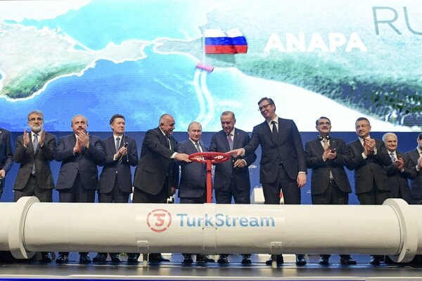 Slávnostné otvorenie plynovou TurkStream.