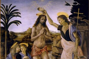 Obraz Krstenie Ježiša Krista.