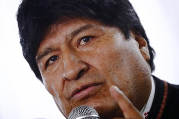 Bývalý bolívijský prezident Evo Morales.