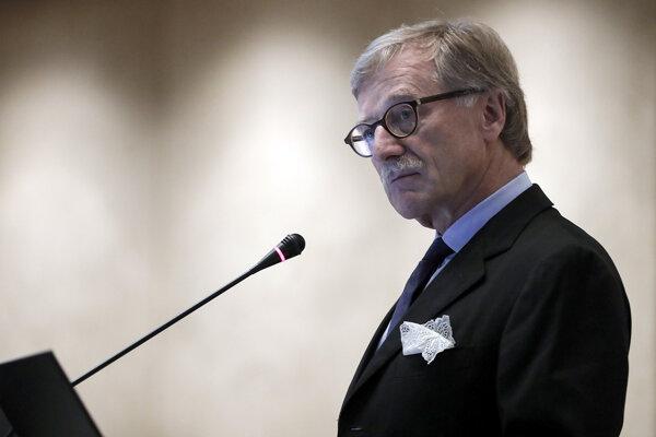 Člen predstavenstva Európskej centrálnej banky Yves Mersch.