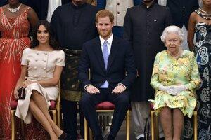 Meghan, Harry a kráľovná Alžbeta II.