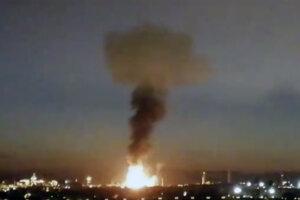 Výbuch v továrni pri meste Tarragona.